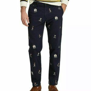 NWT Polo by Ralph Lauren College Bear Navy Chinos